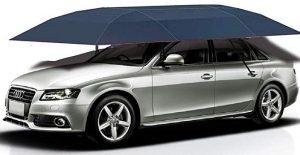 Jolitac car tent semi-automatic, portable car umbrella