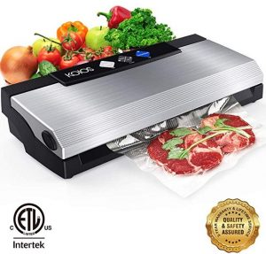 KOIOS vacuum sealer machine, 80kpa automatic food sealer