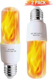 LED Flame Effect Light Bulbs - E26 LED Bulb