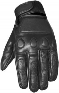 New Vintage Mens Leather Cruiser Protective Motorcycle Riding Racing Gloves XL
