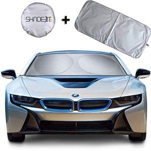 Shade-It car windshield sunshade