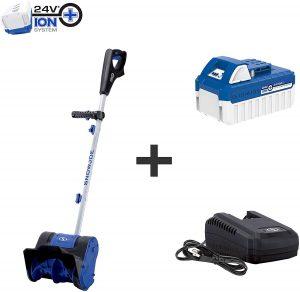 Snow Joe 24V-SS10 24-Volt 10-Inch 4-Ah Cordless Snow Shovel