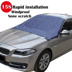 Sunny Color TMA-1 magnetic edges windshield snow cover