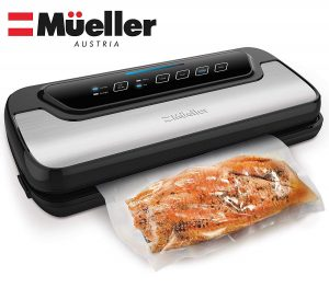 Vacuum sealer machine by Mueller
