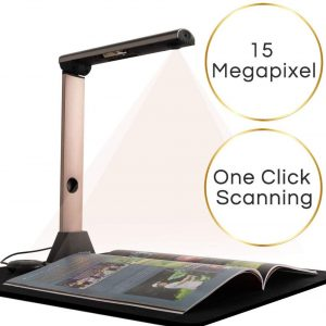 iCODIS X7 Book & Document Scanner, 15MP High Definition Portable Document Camera