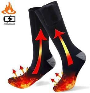 Heated Socks for Men Women,Electric Battery Heating Socks for Winter Sports