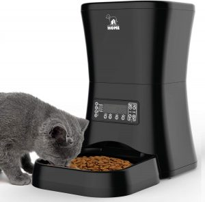 HICTOP Automatic Pet Feeder | Auto Pet Dog Timed Programmable Food Dispenser