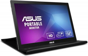"This is an ASUS MB168B 15.6"" WXGA 1366x768 USB Portable Monitor"