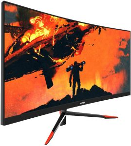 VIOTEK GNV30CB 30-Inch Curved Gaming Monitor | 144Hz, 2560 x 1080P, 21:9 Ultra-Wide