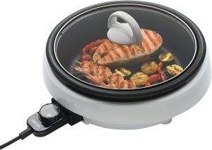 Aroma Housewares ASP-137 3-Quart/10-inch 3-in-1 Super Pot