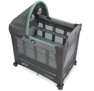 Graco Travel Lite Crib is a convertible crib playard for baby to play.