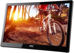 AOC e1659Fwu 15.6-Inch Ultra Slim 1366x768 Res 200 cd/m2 Brightness