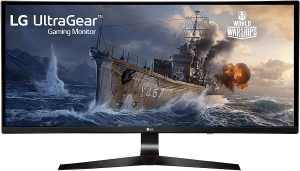 LG Monitor 34UC79G-B 34-Inch 21:9 is a Curved UltraWide IPS Gaming Monitor for all kinds of gaming activities.