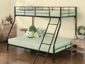 Zinus Hani Easy Assembly Quick Lock Metal Bunk Bed / Quick To Assemble in Under an Hour