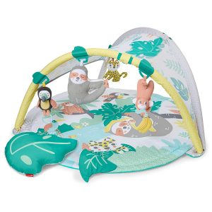 Skip Hop Tropical Paradise Baby Gym: Tummy Time Play Mat to Activity Gym