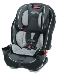 Graco SlimFit is 3 in 1 Convertible Car Seat for infant and toddler.