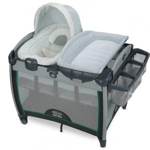 Graco Pack 'n Play Playard comes with Portable Bouncer.