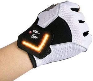 This is an LED light signal glove from Amzstar designed for all outdoor activities such as running, biking and more.
