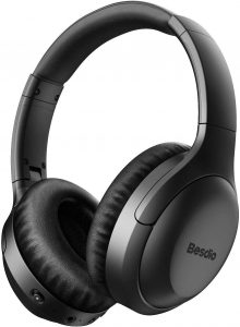 Besdio Headphones helps prevents any unnecessary noise that bother you while listening to your musics or working.