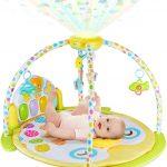 BABYSEATER Baby Gym Kick and Play Piano Activity