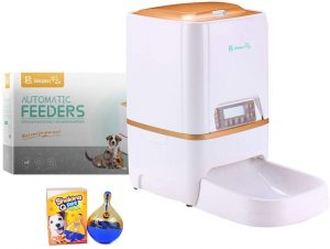 BELOPEZZ 6Liters Smart Pet Automatic Feeders for Dog and Cat Food Dispenser