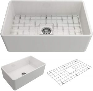 BOCCHI 1138-001-0120 Single Bowl Kitchen Sink