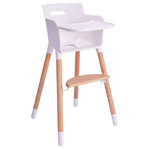 Elephant Squares Cosco Simple Fold High Chair with 3-Position Tray