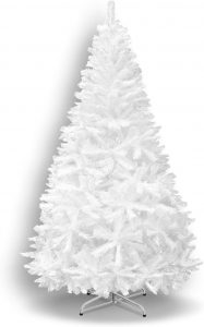 The BenefitUSA Classic Pine Artificial Christmas Tree is equipped with Metal Stand.
