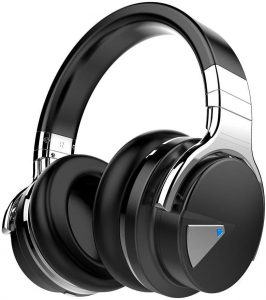 COWIN E7 is built with Active Noise Cancelling function and costs under 100 dollars only