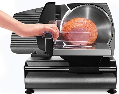 Chefman Die-Cast Electric Deli Food Slicer