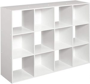 This cube organizer is the best shelf storage for keeping book and other decorative stuff.