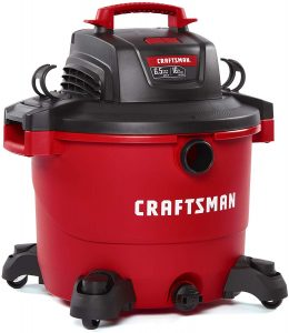 Craftsman Heavy-Duty Shop Vacuum with Attachments