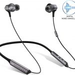 Digital Noise Cancelling Headphones-Premium Sound Wireless Neckband Headphone