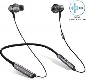 Digital Noise Cancelling Neckbands is a premium sound headphones with wireless connected system.