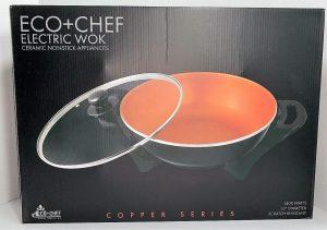 Eco+Chef Copper Electric Wok