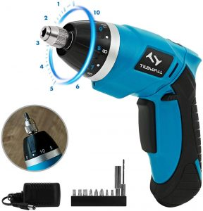 Electric Screwdriver Tilswall Mini Cordless Screwdriver Rechargeable