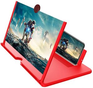 Fanlory is a fancy style magnifier for your smartphone. You can enjoy your movie or game from this large screen anywhere you go.