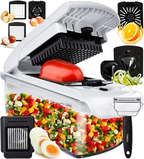 Fullstar vegetable chopper, onion chopper dicer