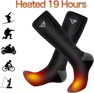 Gamegie Battery Heated Socks are for both men and women