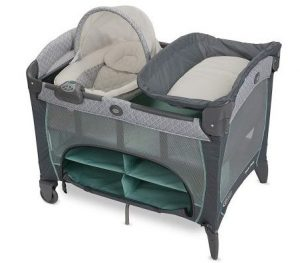 Let's get this Pack 'n Play Graco Newborn Napper DLX Playard for your little baby.