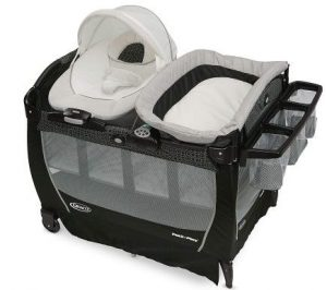 If you are looking for a playard for your newbord, this Pack 'n Play Playard Snuggle Suite is best for your adorable babies.