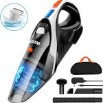 Handheld Vacuum, LOZAYI 7KPA Cordless Handheld Vacuum Rechargeable