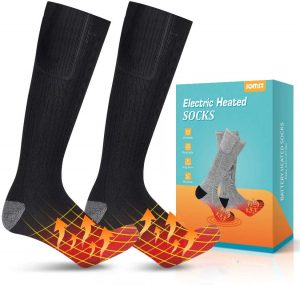 Jomst Upgraded Heated Socks,Rechargeable Battery Heating Socks for Men Women