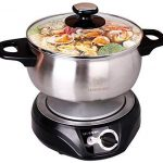 LIVEN Electric Hot Pot Cooker