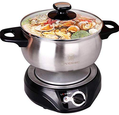 LIVEN Electric Hot Pot Cooker