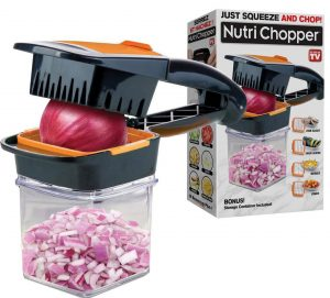 Nutrichopper with fresh-keeping container