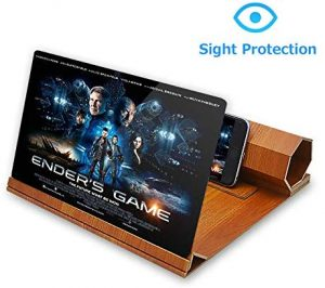 Oretech is a 12 inch foldable screen magnifier for video and movie enlarger form smartphone.