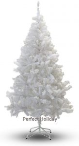 The PVC Crystal White tree is great for decoration in supermarket.