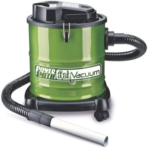 PowerSmith PAVC101 10 Amp Ash Vacuum with Metal Lined Hose