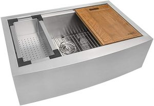 Ruvati 33-inch Kitchen Sink Steel